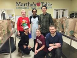Martha's Table volunteers